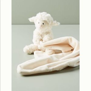 🍼HP 🍼Anthropologie Little Lamb Soother Blanket